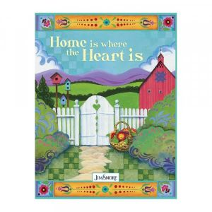 Jim Shore Home Is Where The Heart Is Lined Journal