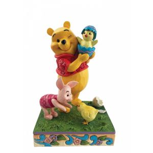 Jim Shore Disney Traditions Easter Pooh and Piglet Figurine