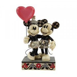 Jim Shore Disney Traditions Mickey and Minnie Love Balloon Figurine