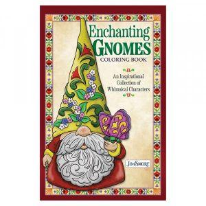 Jim Shore Enchanting Gnomes Colouring Book