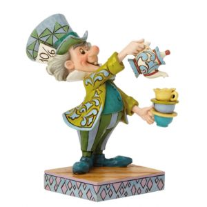 Jim Shore Disney Traditions A Spot of Tea (Mad Hatter Figurine)