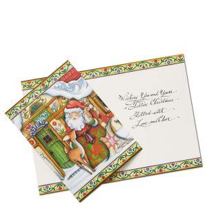 Santa Christmas Cards by Jim Shore (Set of 10) - 6002247