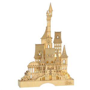 Disney Flourish Beauty & the Beast Illuminated Castle - 6004005