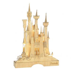 Disney Flourish Cinderella Illuminated Castle - 6004006
