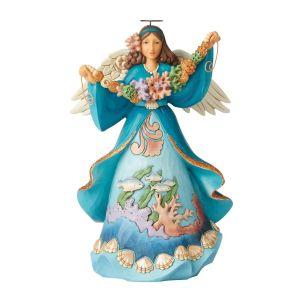 Heartwood Creek Coastal Angel Figurine - 6004024