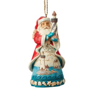 Heartwood Creek Coastal Santa Hanging Ornament - 6004033