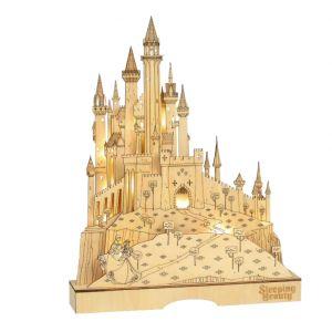 Disney Flourish Sleeping Beauty Illuminated Castle - 6004499