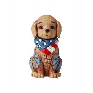Heartwood Creek Mini Patriotic Puppy - 6006442