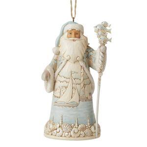 Heartwood Creek Coastal Santa Hanging Ornament - 6006692