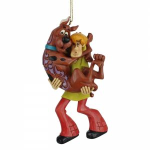 Jim Shore Scooby Doo Shaggy Holding Scooby Hanging Ornament - 6007255