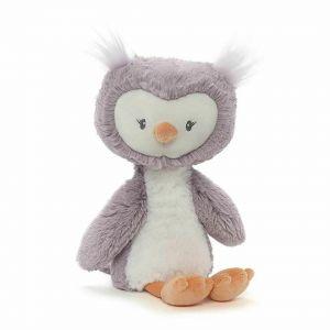2 x Gund Toothpick Owl Small