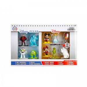 Disney / Pixar Nano Metalfigs 1.5-Inch Diecast Figure 10 Pack