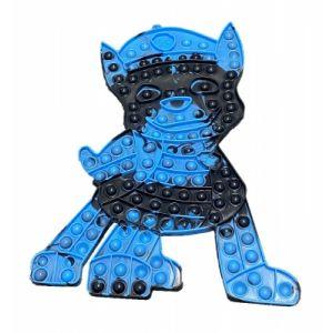 38CM MEGA JUMBO Pop It Fidget Paw Dog Assorted Colour Toy