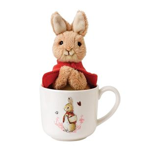 Beatrix Potter Flopsy Mug And Soft Toy - A27177