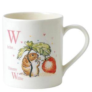Beatrix Potter Mug Letter W - A27331