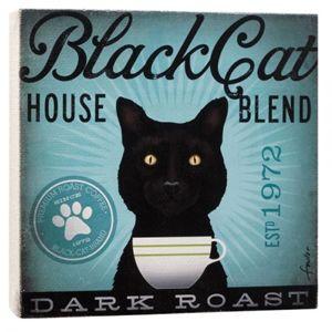 Black Cat Wall Art - 1003640010