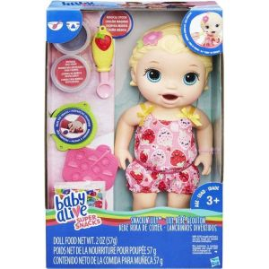 BABY ALIVE SNACKING LILY BLONDE