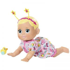 Baby Born 32cm Funny Faces Crawling Baby Doll with Duck Accessory - 116718