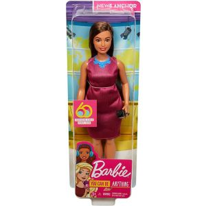 Barbie GFX27 Career 60th Doll, I Can Be a Journalist