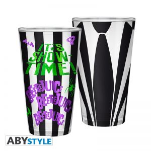 BEETLEJUICE - Large Glass - 400ml - Beetlejuice suit - ABYVER147