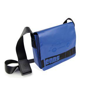Brisa VW Beetles Jean Messenger Blue Bag BETP02