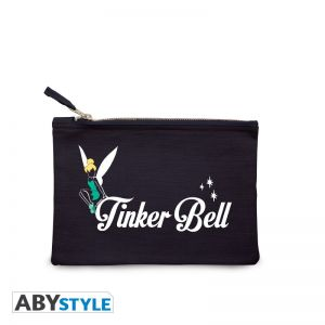"""DISNEY - Cosmetic Case - """"Tinker Bell"""" - Blue - ABYBAG314"""