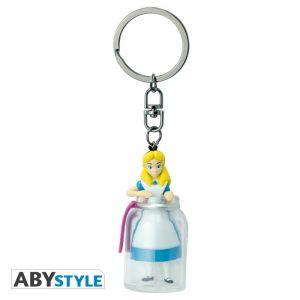 """DISNEY - Keychain 3D """"Alice in the bottle"""" - ABYKEY257"""