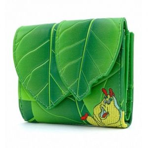 Loungefly A Bugs Life Leaf Flap Wallet - WDWA1182