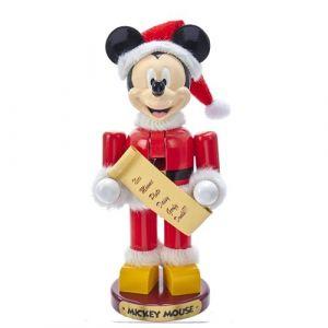 "10"" Santa Mickey Mouse Nutcracker"