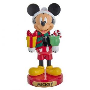 """10"""" Mickey With Present Nutcracker"""
