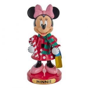 """10"""" Minnie With Candy Cane Nutcracker"""