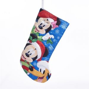 """18"""" Mickey and Friends Printed Stocking"""