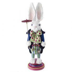"18"" Hollywood White Rabbit Nutcracker"