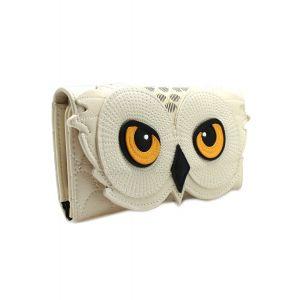 HPWA0005 LF HP HEDWIG OWL TRIFOLD WALLET