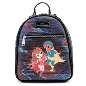 Loungefly Marvel Wanda Vision Scarlet Witch Mini Backpack