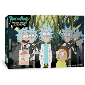 Close Rick - Counters Of The Rick Kind Deck Building Game - 02574