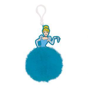 Cinderella (Ballgown)  Pom Pom Keychain