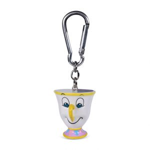 Beauty And The Beast (Chip)  3D Keychain - RKR39131