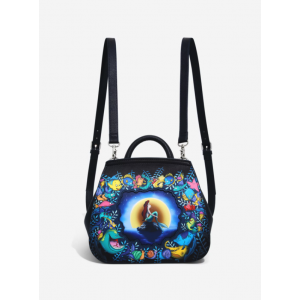 Disney Loungefly - The Little Mermaid Moonlight Convertible Mini Backpack - Box Lunch Exclusive