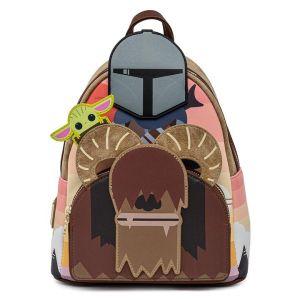 Loungefly x Star Wars The Mandalorian Bantha Ride Mini Backpack