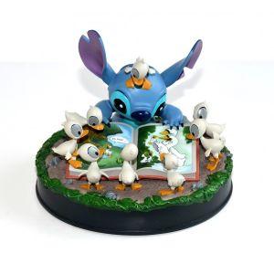Disney Stitch and Ducklings Medium Figure