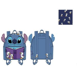 Loungefly Lilo and Stitch Story Time Duckies Mini Backpack