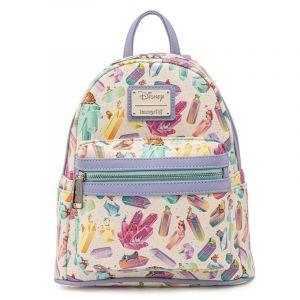 Disney Loungefly Crystal Sidekicks AOP Mini Backpack