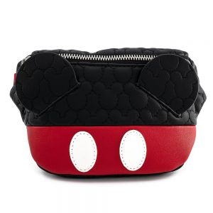 Loungefly Disney Mickey Mouse Quilted Cosplay Fanny Pack - WDTB1956