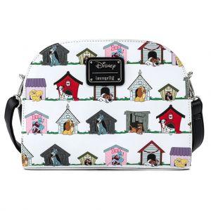 Loungefly Disney Dog Houses AOP Crossbody Bag - WDTB2031