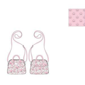 Loungefly Disney Marie Floral Crossbody Bag