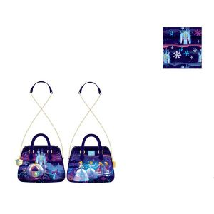 Loungefly Disney Cinderella Castle Series Chain Strap Crossbody Bag