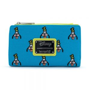 DISNEY GOOFY AOP EMBROIDERED CANVAS WALLET WDWA120