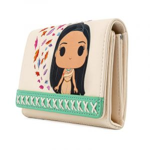 Pop! by Loungefly Disney Earth Day Pocahontas Meeko Flit Earth Day Zip Around Wallet