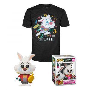 Alice in Wonderland POP! & Tee Box White Rabbit